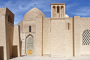 Jameh Mosque (Friday Mosque), Nain city, Isfahan Province, Iran, Middle East