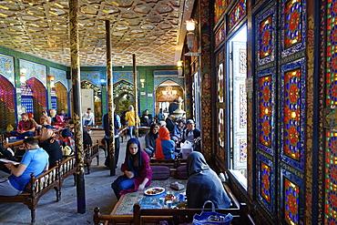 Naghsh-E Jahan Restaurant, Isfahan, Iran, Middle East
