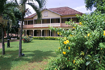 Old colonial residence, St. James plantations, Commune de Sainte Marie, island of Martinique, French Lesser Antilles, West Indies, Central America