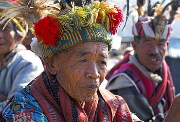 Ifugao men, northern area, island of Luzon, Philippines, Southeast Asia, Asia