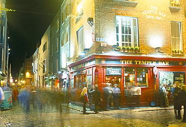 Bar Fleet Street, Temple Bar area, Dublin, County Dublin, Eire (Ireland), Europe