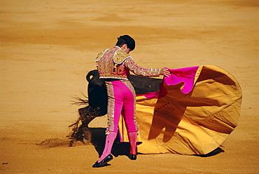 Bull fighter, Ronda, Andalucia, Spain