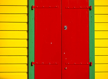 Shutters, St. Barthelemy, French West Indies