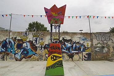 Berlin Wall, Basketball, Berlin, Germany