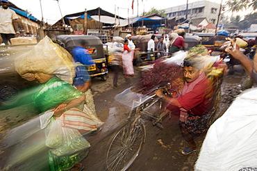 Market Rush Hour, Kerala, India