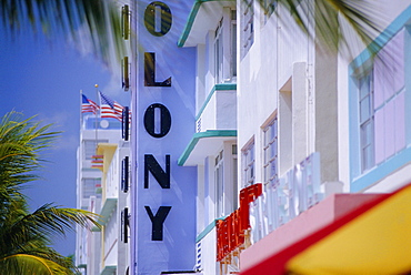 Colony Hotel, Miami Beach, Florida, USA