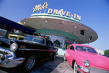 Mel's Drive-In, Universal Studios, Orlando, Florida, United States of America (U.S.A.), North America