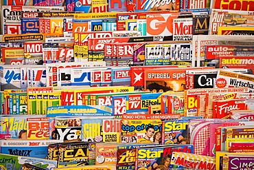 Magazine stand, Italy, Europe