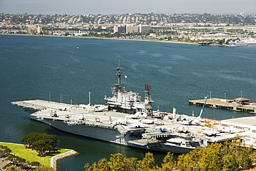 The Midway Museum, San Diego, California, United States of America, North America