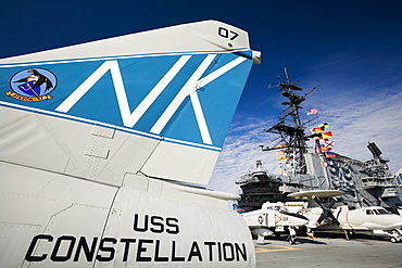Midway Museum Ship, San Diego, California, United States of America, North America
