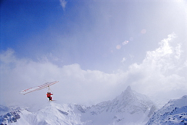 Hang Glider, Courchevel, France