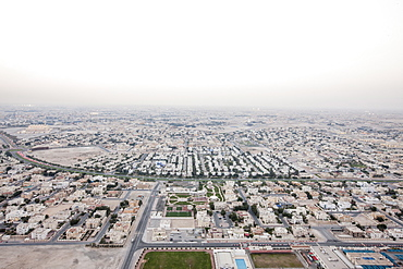 View over Doha, Qatar, Middle East