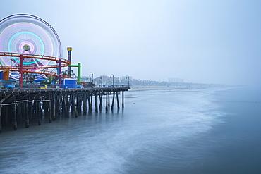 Santa Monica Pier, California, United States of America, North America