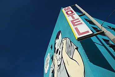 Mural on wall in Las Vegas, Nevada, United States of America, North America