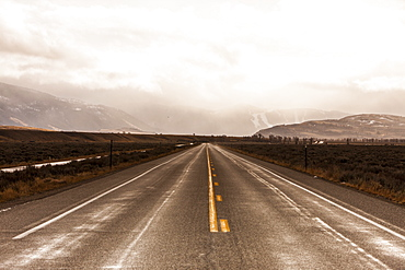 Road to Infiniti, Wyoming, United States of America, North America