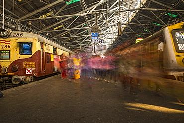 Chhatrapati Shivaji Terminus (Victoria Terminus), Mumbai, India, Asia