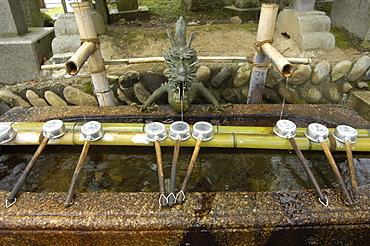 Nigatsudo temple at Todaiji temple, Nara, Japan, Asia