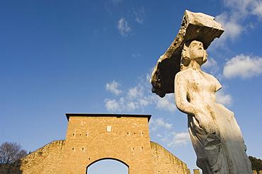 Piazzale di Porta Romana, Florence, Tuscany, Italy, Europe
