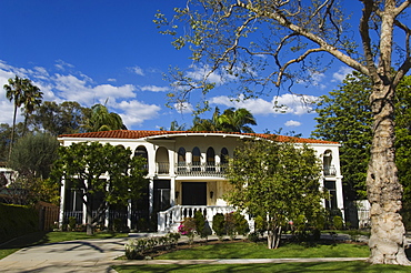 Mansions of the rich and famous, Beverly Hills, Los Angeles California, United States of America, North America