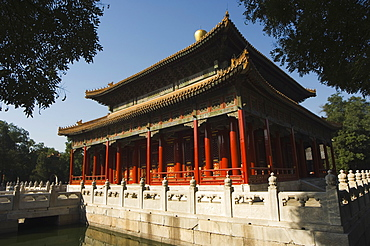 Confucius Temple and Imperial College built in 1306 by the grandson of Kublai Khan and administered the official Confucian examination system, Beijing, China, Asia