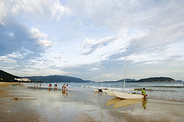 Yalong beach area, Sanya City, Hainan Province, China, Asia
