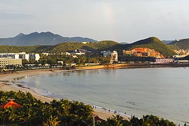 Dadonghai beach area, Sanya City, Hainan Province, China, Asia