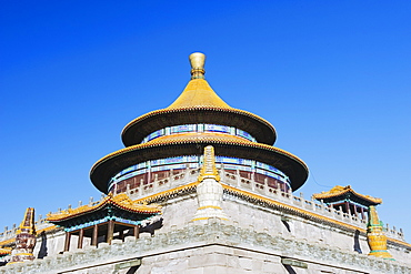 Pule Si outer temple dating from 1776, Chengde city, UNESCO World Heritage Site, Hebei Province, China, Asia