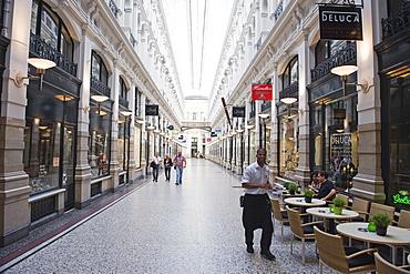 The Passage shopping arcade, Den Haag (The Hague), Netherlands, Europe