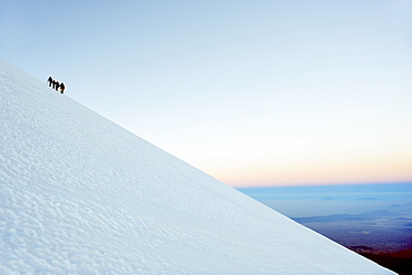 Pico de Orizaba, 5610m, Veracruz state, Mexico, North America