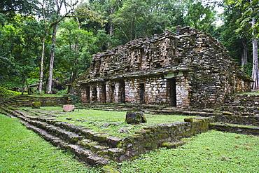 Mayan ruins, Yaxchilan, Chiapas state, Mexico, North America