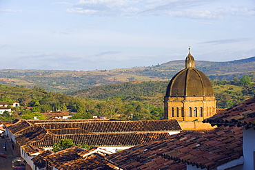 Catedral de la Inmaculada Concepcion (Cathedral of the Immaculate Conception), Barichara, Colombia, South America