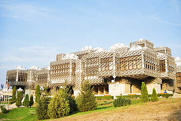 National Library, Pristina, Kosovo, Europe
