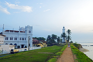 Mosque, Galle, Southern Province, Sri Lanka, Asia