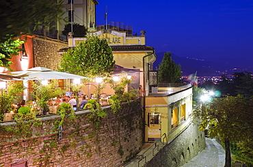 Restaurant in Bergamo, Lombardy, Italy, Europe