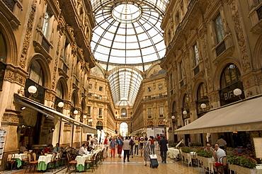 Galleria Vittorio Emanuele, Milan, Lombardy, Italy, Europe