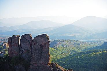Rock formations, Belogradchik, Bulgaria, Europe