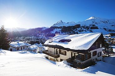 Davos, Graubunden, Swiss Alps, Switzerland, Europe