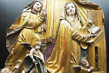 St. John's Convent Museum, Kloster St. Johann (Benedictine Convent of St. John), UNESCO World Heritage Site, Mustair, Graubunden, Swiss Alps, Switzerland, Europe, UNESCO