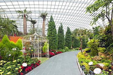 Gardens by the Bay, Flower Garden, botanic gardens, Singapore, Southeast Asia, Asia