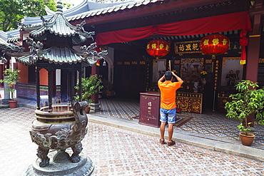 Thian Hock Keng Temple, Singapore, Southeast Asia, Asia