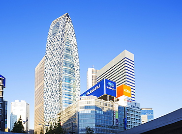 Gakuen Mode building, Shinjuku, Tokyo, Honshu, Japan, Asia