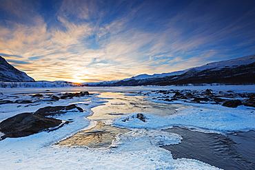 River, Abisko National Park, Sweden, Scandinavia, Europe