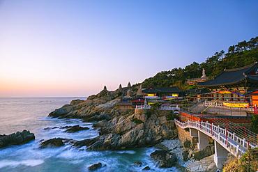 Haedong Yonggungsa temple, Busan, South Korea, Asia