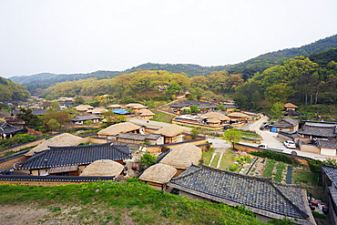 Yangdong folk village, UNESCO World Heritage Site, Gyeongsangbuk-do, South Korea, Asia