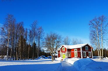 Gamelstad, Open Air Museum, UNESCO World Heritage Site, Lulea, Lapland, Arctic Circle, Sweden, Scandinavia, Europe