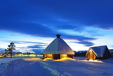 Kiruna, Lapland, Arctic Circle, Sweden, Scandinavia, Europe