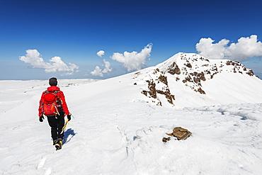 Mount Aragats, 4090m, highest mountain in Armenia, Aragatsotn Province, Armenia, Caucasus, Central Asia, Asia