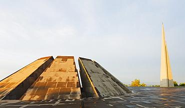 Genocide Memorial, Yerevan, Armenia, Caucasus region, Central Asia, Asia