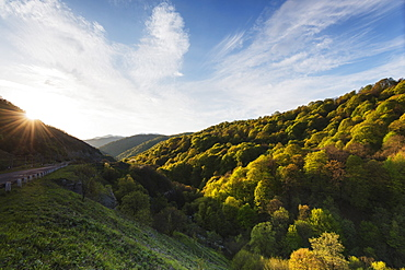 Rural scenery, Lori province, Armenia, Caucasus, Central Asia, Asia