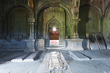 Gandzasar Monastery, independent Armenian enclave officially within Azerbaijan, Nagorno-Karabakh, Armenia, Caucasus, Central Asia, Asia